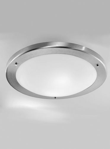 Franklite CF1221 Satin Nickel Flush Light